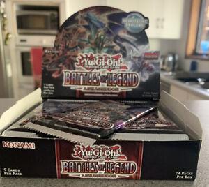 Yu-Gi-Oh-Battles-Of-Legend-Armageddon-Full-Set-Of-59-1st-Edition-Ultra-Rares
