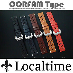 Corfam-Type-Smooth-Premium-Oiled-Calf-Leather-Stitch-Watch-Strap-Fits-Panerai