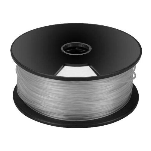 Chelo de 1.75 mm Pla filamento Para Impresoras 3d De Plata elemento Fibra Hilo por 5 Metros