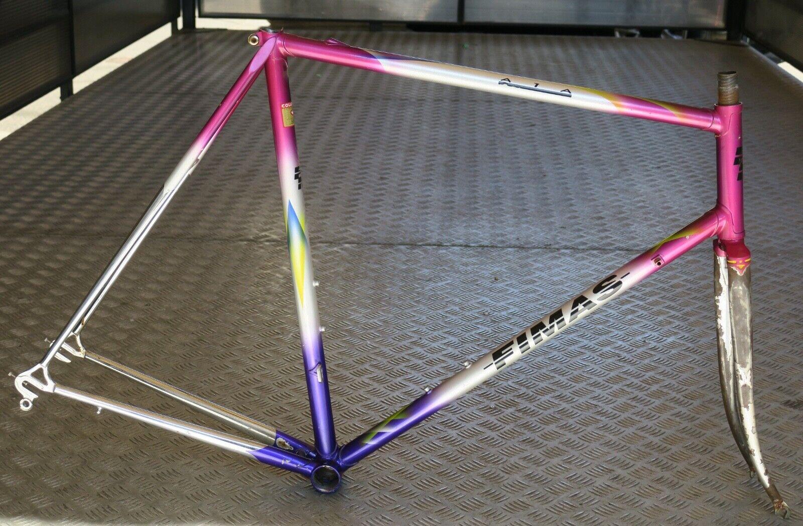Fimas road bike steel frameset, Columbus Slx New, 58 cm, Campagnolo drops