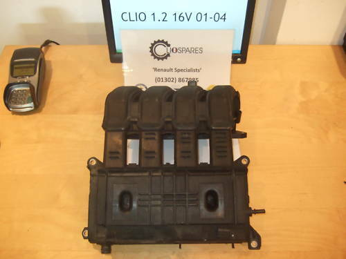 RENAULT CLIO II 1.2 16 V D/'admission Collecteur D/'Admission 2000-2004 D4F 712 KANGOO