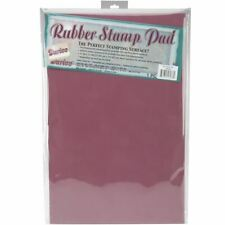 Stamping Rubber Stamp Pad  Surface 11 x 17 x 0.3 inches Paper Craft