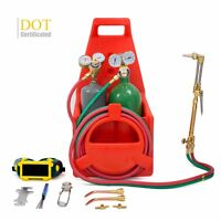 Dot Certificated Tote Oxygen Acetylene Oxy Welding Cutting Torch Kit Victor on sale