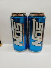 Fridge Case NOS Energy High Performance Blue Drink Cans 8 Pack