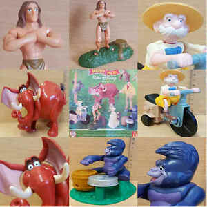 McDonalds-Happy-Meal-Toy-1999-Tarzan-Jane-Porter-Plastic-Toys-Various-Figures