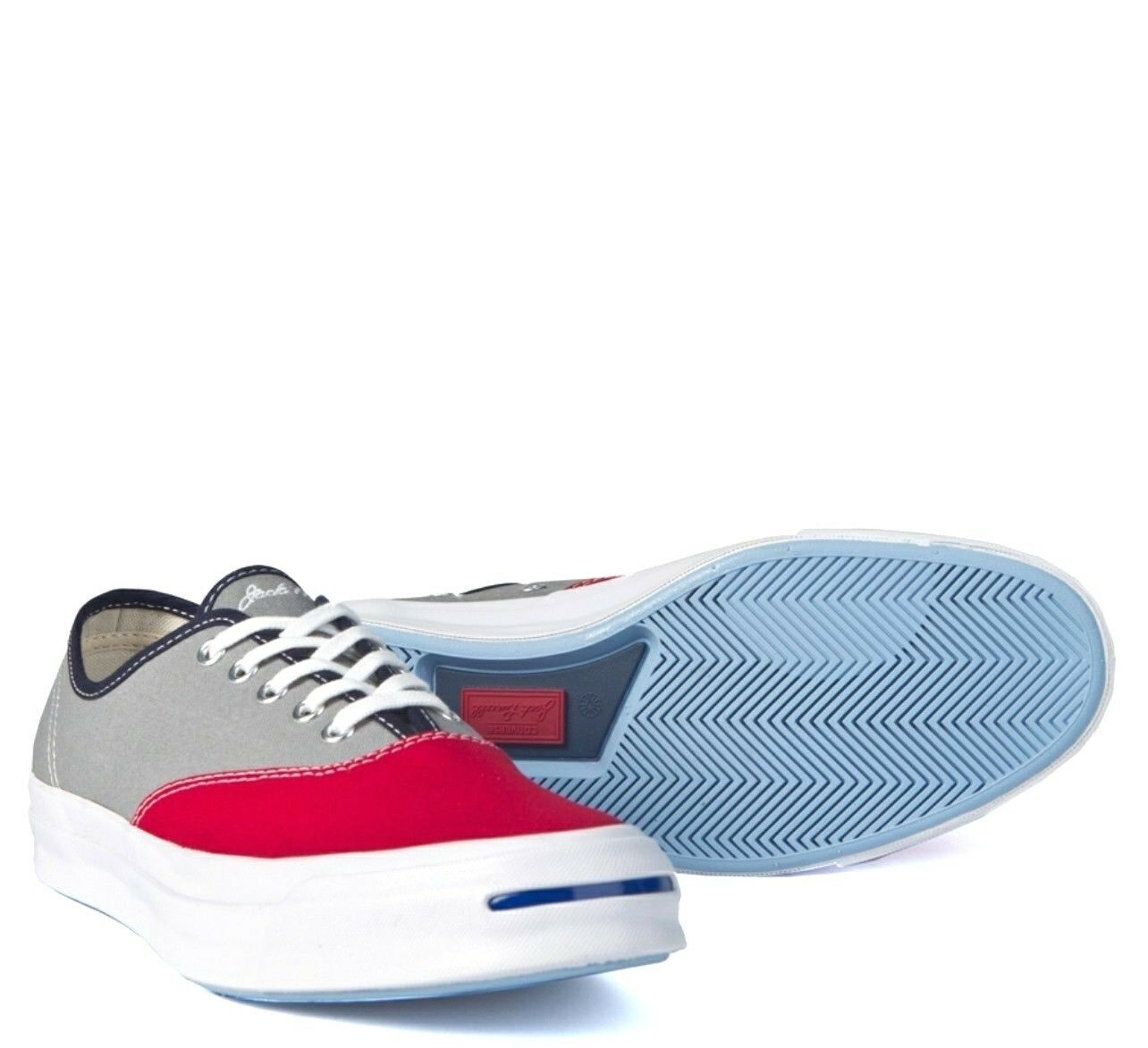 Converse Jack Purcell  Low Crimson/Dolphin 151456C Retail 95.00