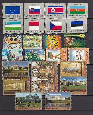 Uno New York Postfrisch Jahrgang 1998 Tuur 100% Garantie