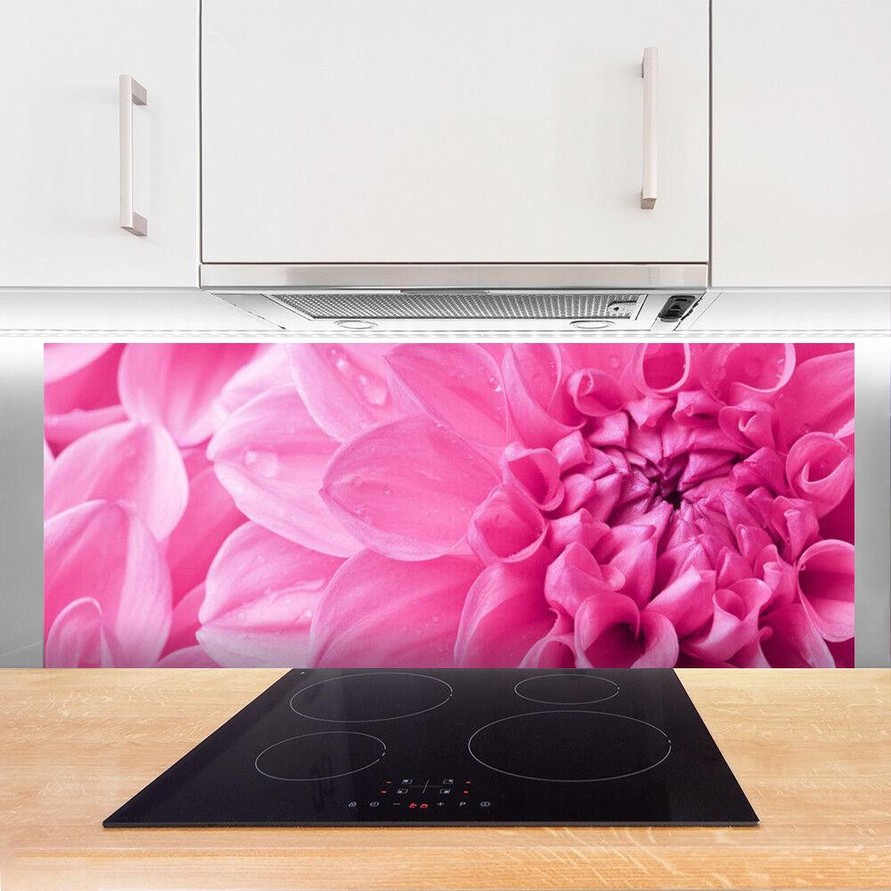 Crédence de cuisine en verre Panneau 125x50 Floral Floral Floral Fleurs 8d068e