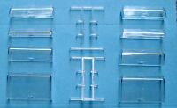 Flowbee Haircutter Adapters & Spacers Set 10 Pieces, New, Stronger Plastic