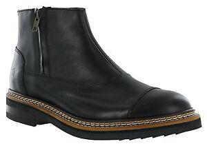 CAT-Caterpillar-Adner-Chelsea-Boots-Mens-Leather-Zip-Up-UK6-12
