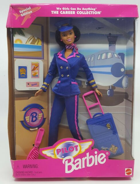 We Girls Can Do Anything Career Collection Pilot Barbie Special Edition MATTEL