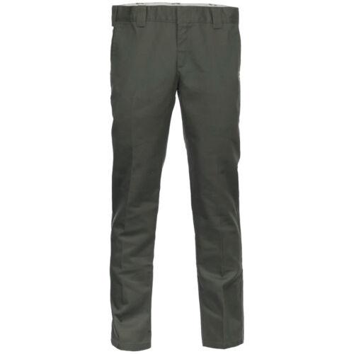 Dickies 872 Slim Fit Work Pant WE872 Men/'s Trousers Bügelfaltenhose Cloth New