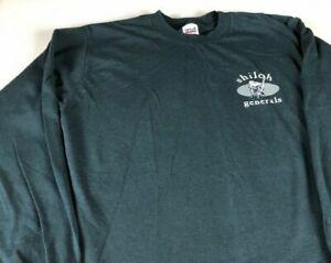 Shiloh Generals Long Sleeve Shirt Adult SZ M/L Battle Civil War Mens Womens Tee