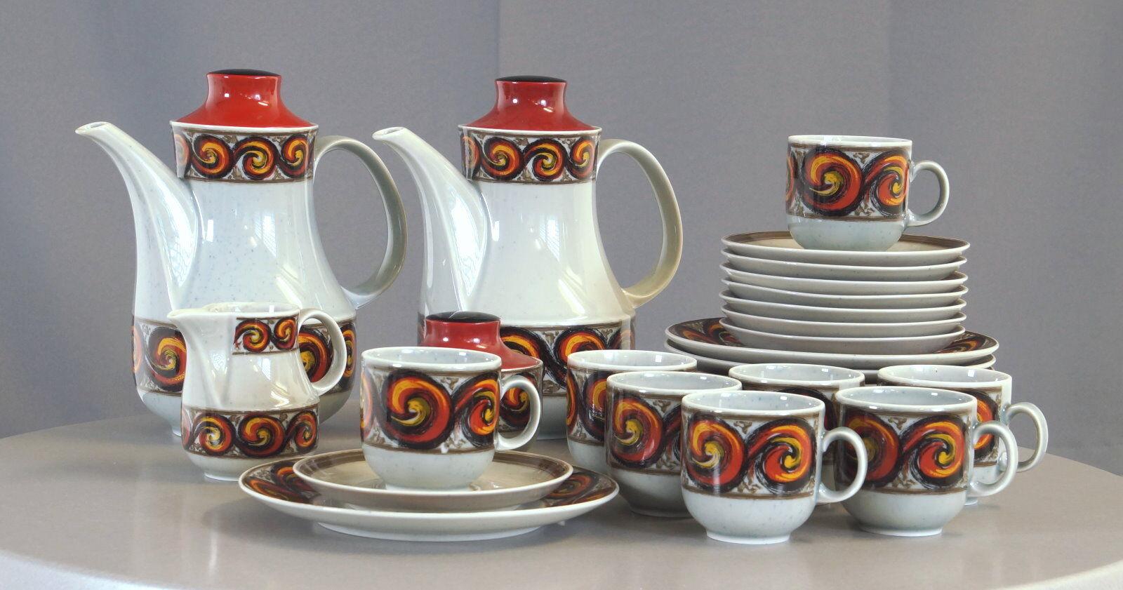 Winterling noirenbach service à café pfauenauge 31 pcs pour 8 personnes