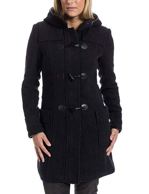 Timezone Women's Women's Women's Duffle Grey bluee Coat Size UK Small New With Tags RRP 2abd02