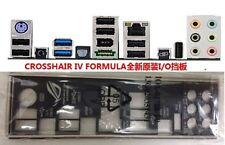 Original ASUS I/O IO Shield BLENDE backplate FOR CROSSHAIR IV FORMULA  #537 XH