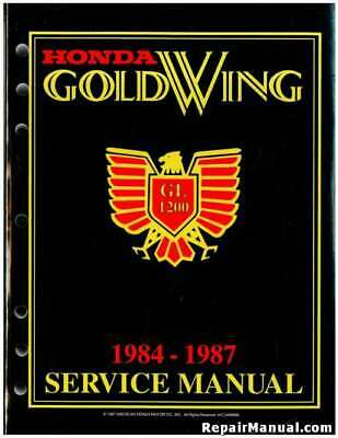 honda gl1200 motorcycle wiring diagrams 1984 1987 honda gl1200 a i goldwing touring motorcycle shop  1984 1987 honda gl1200 a i goldwing