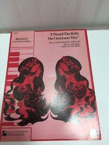I Heard the Bells on Christmas Day Piano Vintage Sheet Music 23957 | eBay
