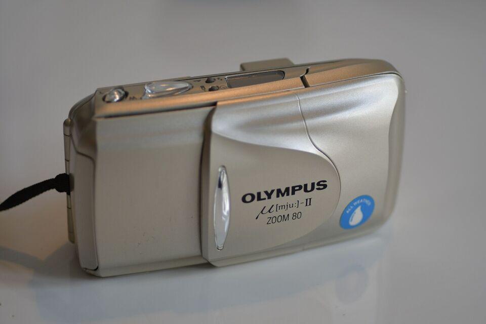 Olympus, Mju II Zoom 80, God