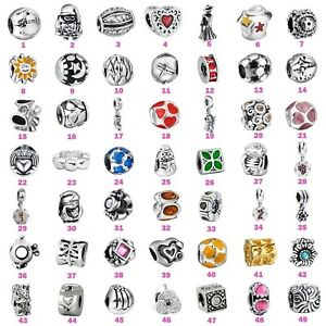 Charms-Bead-Fashion-Jewelry-For-European-925-Silver-Sterling-3mm-Bracelet-Chain