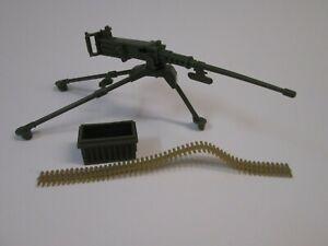 Rambo 50 Caliber Machine Gun Great for customizing Roadblock G.I. Joe Classified