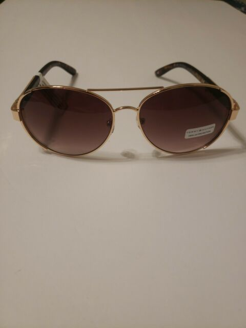 Womens Sunglasses Tommy Hilfiger Mellie Gold Tortoise Aviator WM Ol274