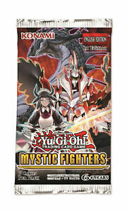 Mystic-Fighters-Booster-Pack-1st-Edition-English-SEALED-YuGiOh