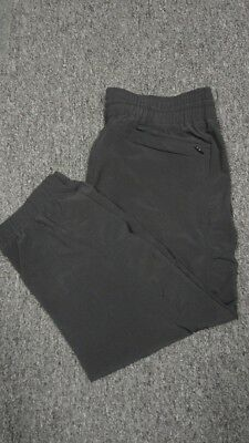 Activewear Clothing, Shoes & Accessories Dynamic Athleta Black Elastic Waist Straight Leg Solid Athletic Crop Pant Sz 6 Ff6785 To Invigorate Health Effectively