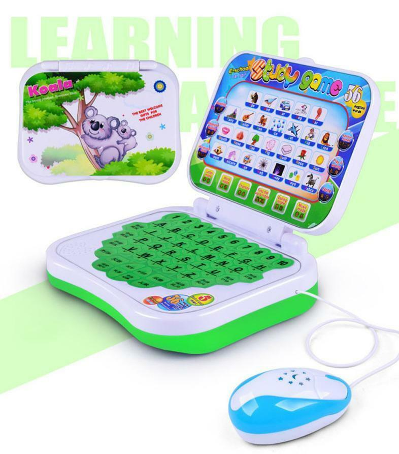 New Version English Language Educational Toy Study Learning Machine Kids Children Tablet Educational Learning Toys Gift for Girls Boys Baby