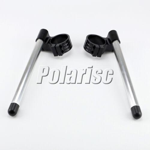 45MM CNC High Lift Universal Adjustable Clip Ons On Handle Bar Handlebar HSB
