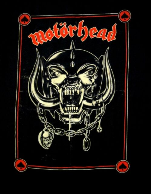 MOTORHEAD cd lgo PROPAGANDA POSTER Official SHIRT XXL 2X new