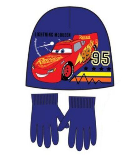 Disney Cars Boys Hat and Gloves Set
