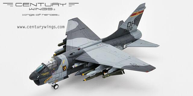 CENTURY Wings A-7D Corsair II 162 TFS, 178 TFG Ohio ANG CW 001604 Nuovo di zecca con scatola