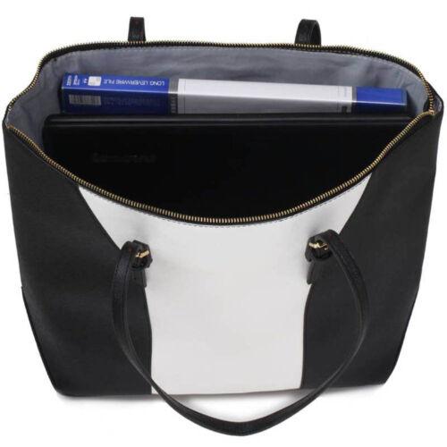 Womens Designer Handbag Faux Leather Ladies Large Stylish Tote Shoulder Bag New