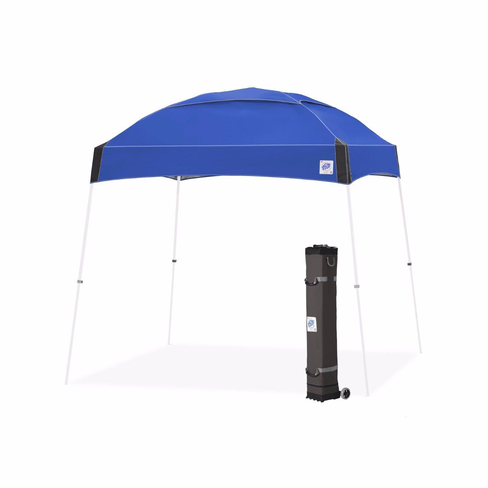 E-Z E-Z E-Z UP Dome Instant Shelter 10'x10' Canopy Pop Up Tent Vented - Royal Blau f2b91e