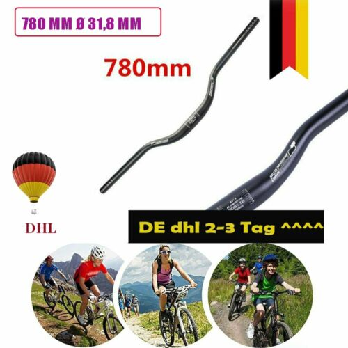 Fahrrad Lenker Riser Bars MTB Downhill Mountainbike 31.8MM*780MM aus Aluminium