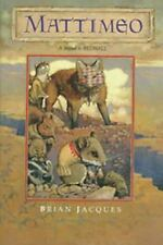 Redwall: Mattimeo by Brian Jacques (1990, Hardcover)
