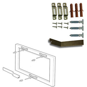 picture-frame-security-kit-Anti-Theft-Picture-Security-fixing-kit-T-screw-amp-KEY