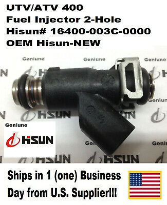 Hisun# 16400-004C-0000 2-Hole Type UTV//ATV 500 FUEL INJECTOR ONE-1 INJECTOR