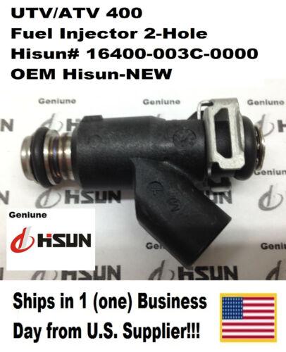 Hisun# 16400-003C-0000 2-Hole Type ONE-1 INJECTOR UTV//ATV 400 FUEL INJECTOR
