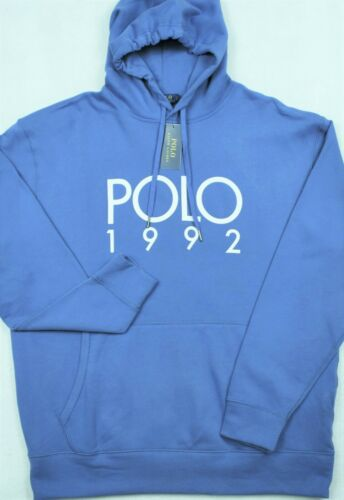 Polo Ralph Lauren Hoodie POLO 1992 Fleece Sweatshirt 3XLT Tall NWT $125