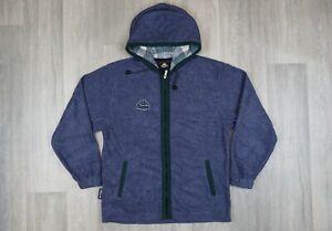 Mens-Vintage-Kappa-Blue-Hoodie-Fleece-Top-size-M