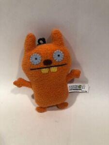"UGLYDOLL CozyMonster - Plush Stuffed Doll - Orange - 2009  - 5"" Size Item#20435"