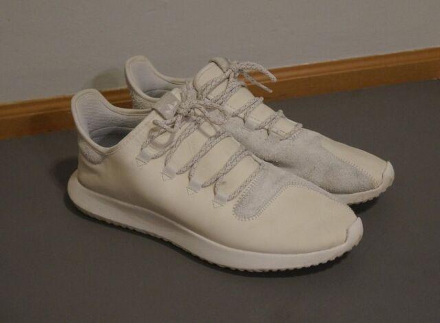 Mens Adidas Tubular Shadow Crystal White Running White BB8821 Size US 13