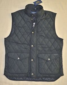 Details about New 4XB 4XL BIG 4X POLO RALPH LAUREN Mens diamond quilted vest Black Gilet XXXXL
