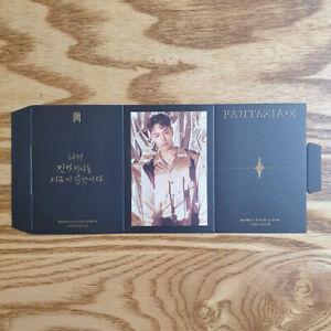 Shownu-Official-Photocard-Triangle-Stand-Monsta-X-Mini-Album-Fantasia-X-Kpop
