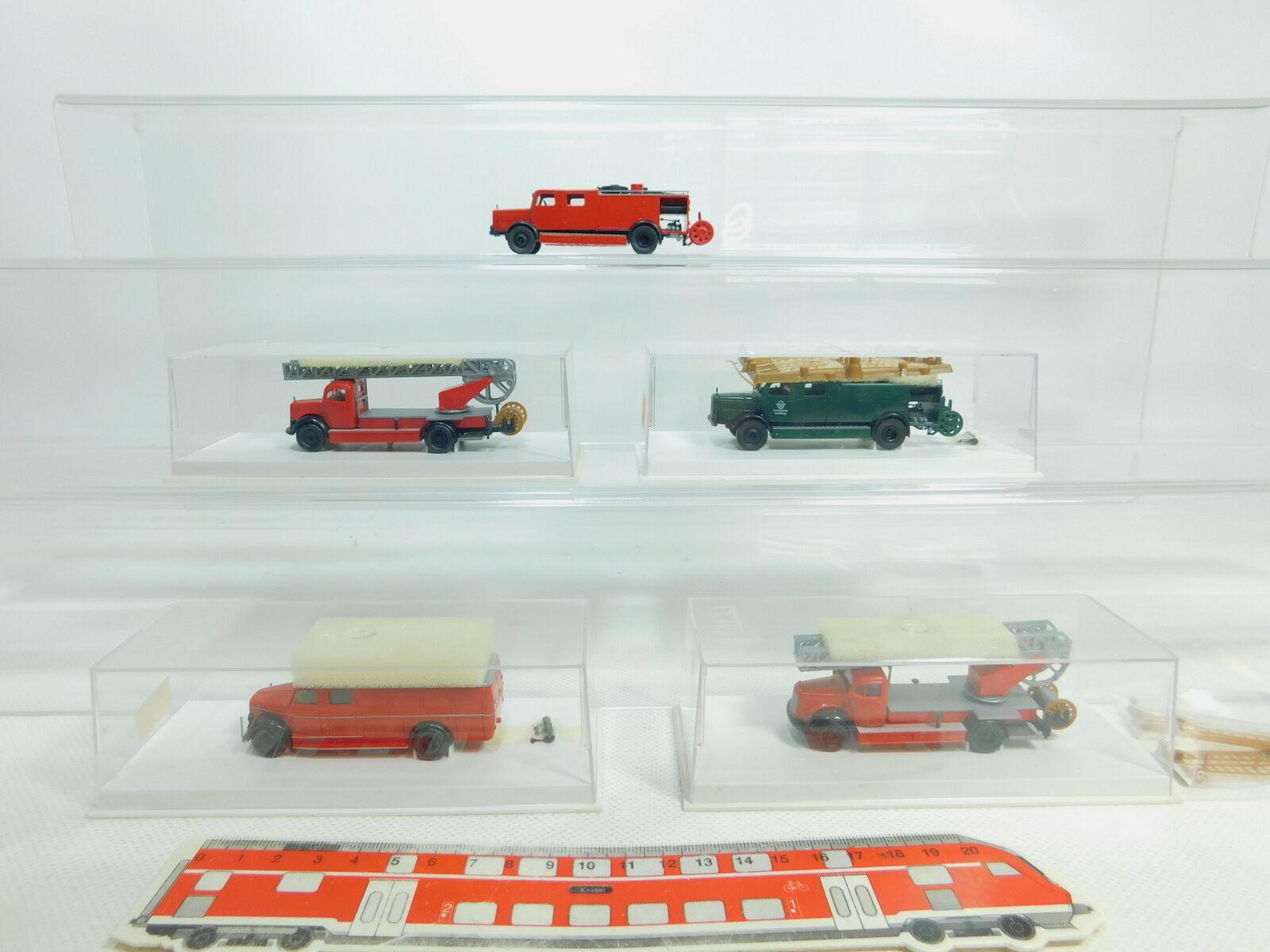 Bn120-0, 5  5x Brekina h0 1 87 FW - Police-Modèle  4035+4120+4423 etc, top+4x neuf dans sa boîte