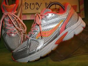 41f02e2b Details about Saucony Youth Cohesion 6 Lace Running Shoe-Size 37.5EU/5US