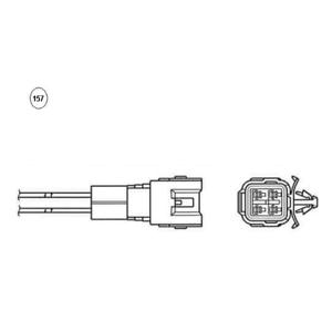 NGK Lambda Sensor 93752