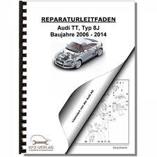 Audi TT, Typ 8J (06-14) Instandhaltung, Inspektion, Wartung - Reparaturanleitung